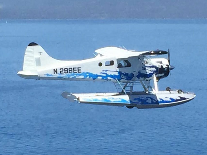 float plane Lake Tahoe tours