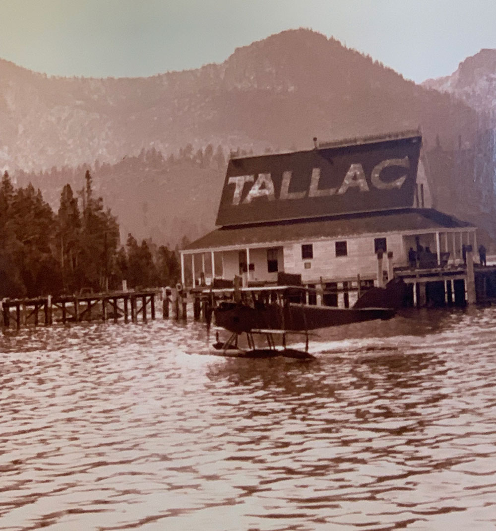 tallac tahoe historic seaplane tour