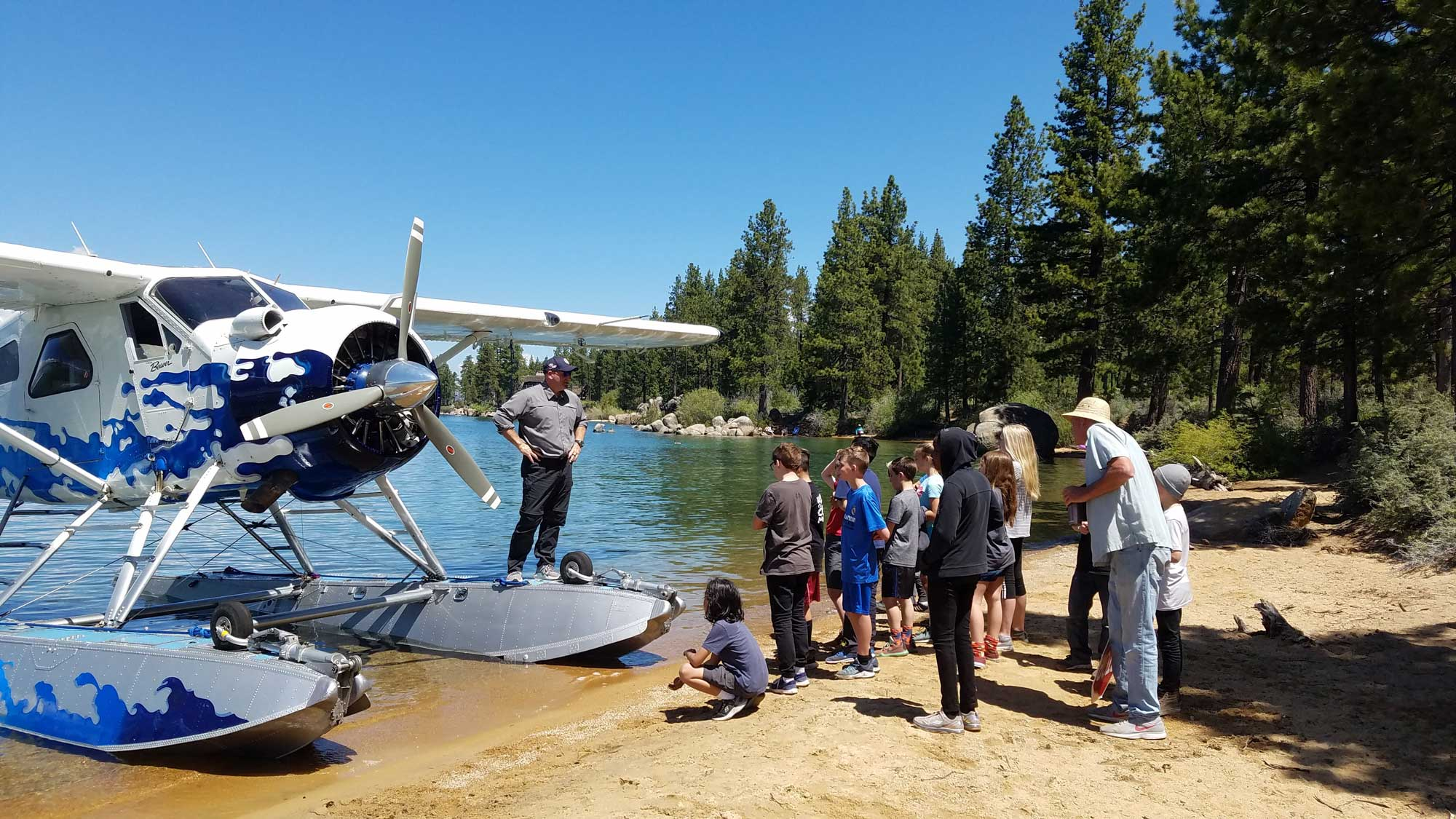 seaplane-giving-a-talk-to-a-group